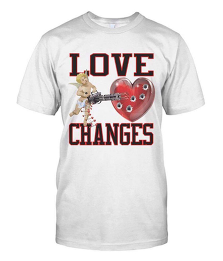 Love Changes White Shirt